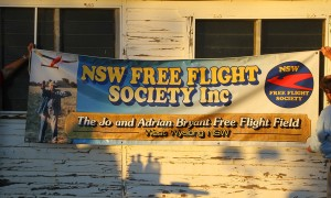 Grand opening of the West Wyalong Free Flight Field